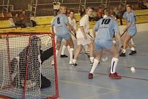 V utkání druhé ligy žen zvítězily florbalistky FBC Písek nad družstvem FBŠ Jihlava B vysoko 8:1.