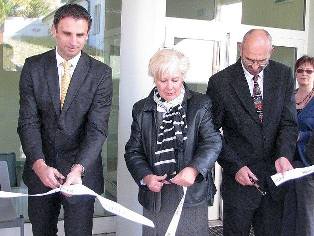 Slavnostní otevření nového hemodialyzačního oddělení písecké nemocnice.