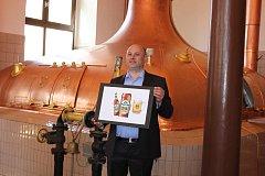 Pivovar v Protivíně oslavuje devadesáté výročí varny. Na snímku je sládek Michal Voldřich.