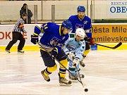 Hokejové derby Milevsko versus Písek.