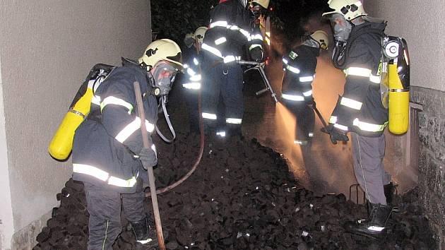 Pohotový zásah píseckých hasičů