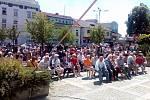 V Milevsku čekají nejen obyvatelé města na setkání s prezidentem Milošem Zemanem.