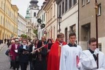 Svatojánské procesí v Písku