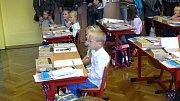 Začátek školy v I. ZŠ Milevsko.