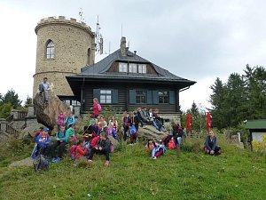 Žáci z Masaryčky vyrazili do Blanského lesa