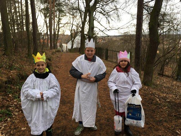 Tři králové na Milevsku.