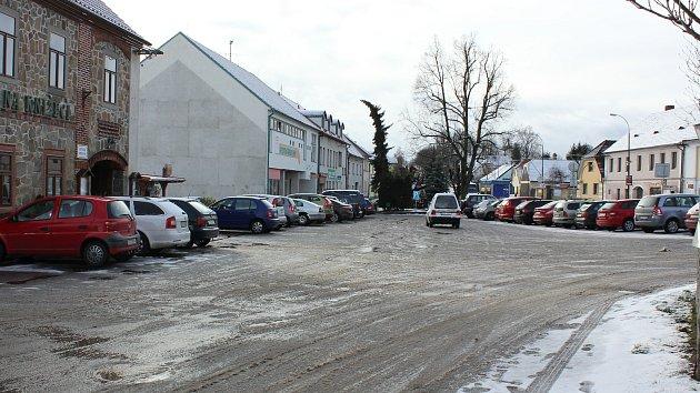 Čimelice, náměstí. Ilustrační foto