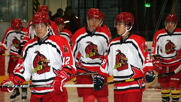 Hokejisté China Golden Dragon.