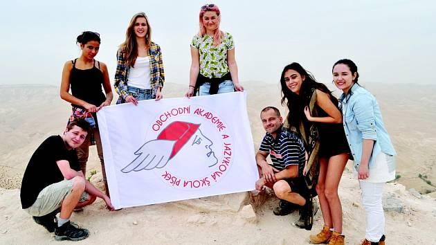 Studenti písecké obchodní akademie strávili v Izraeli týden na přelomu listopadu a prosince.