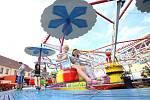 Protivínští, a zejména děti, si užili pouť s kolotoči, cukrovou vatou a balónky.