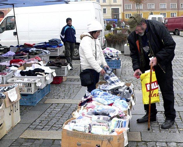 Čtvrtky jsou v Milevsku na náměstí E. Beneše vyhrazeny pro prodejní trhy