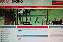Webové stránky města Milevska v nové podobě.
