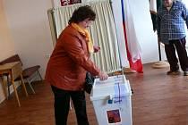 Parlamentní volby ve Skalách.