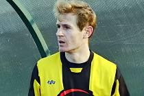 OPORA. Ondřej Kosobud patří v týmu fotbalistů Milevska ke zkušenějším hráčům.