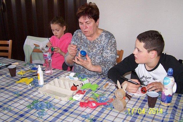 Prázdninová dílna v DK Milevsko.