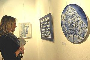 Výstava malba na porcelán v Prácheňském muzeu