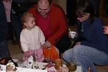 Vánoční prodejní výstava a pohádková benefice v Portyči