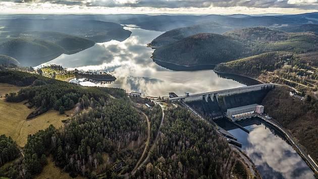 Poslední exkurze hráze a elektrárny na Orlíku bude v neděli.