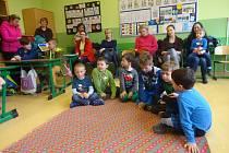 Školička v ZŠ Tomáše Šobra v Písku.