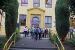Začátek školního roku v ZŠ Mirovice.