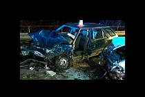 Dopravní nehoda u Protivína.