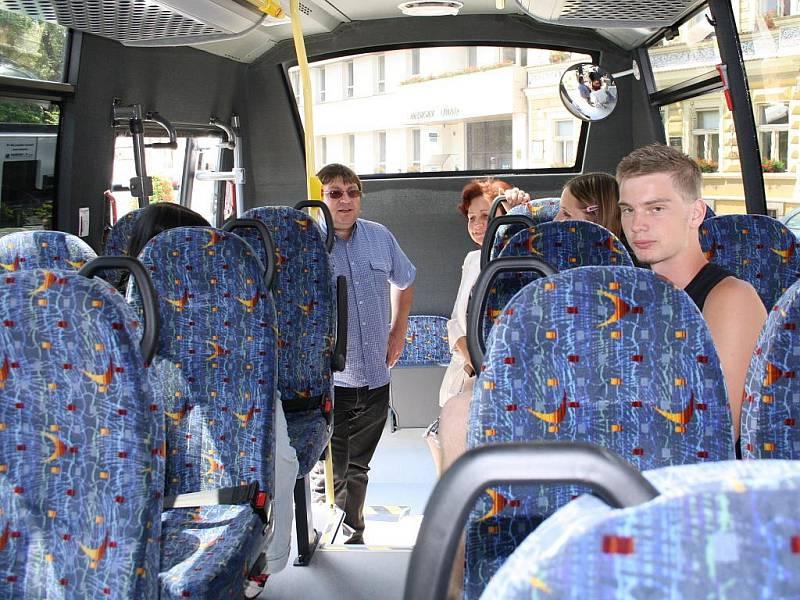 Na Milevsku jezdí mikrobusy a tzv. autobusy na zavolání.