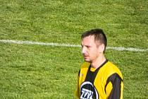 Martin Petr v dresu FC ZVVZ Milevsko