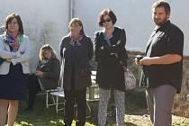 Slavnostní otevření Terapeutické komunity Němčice Sananim v Heřmani.