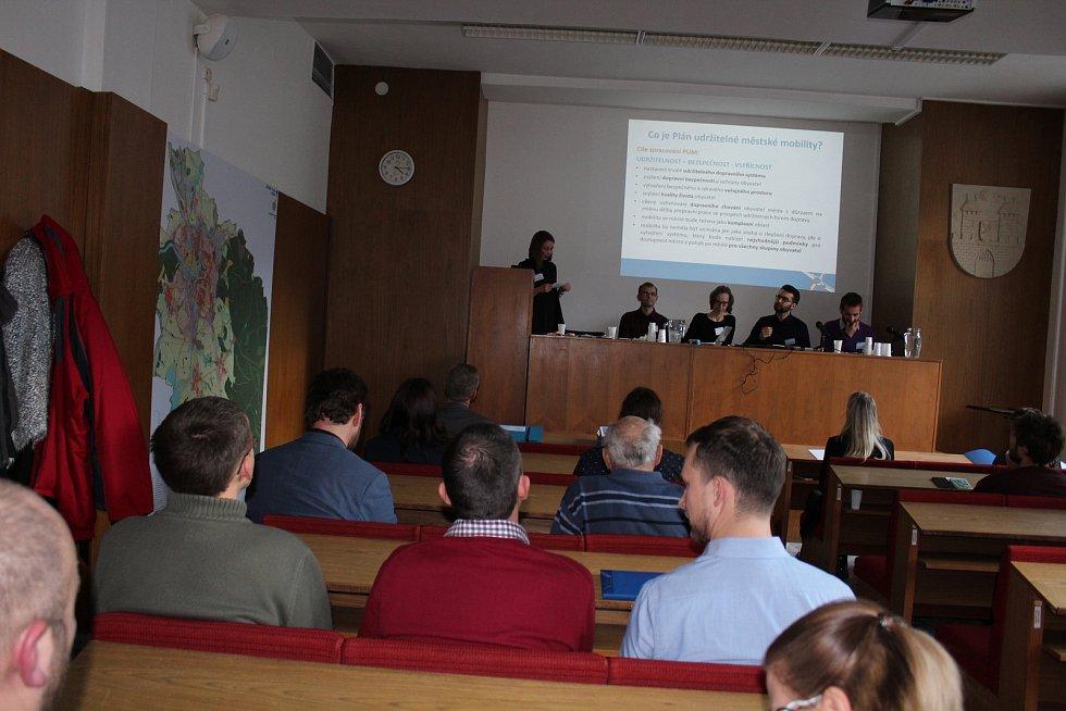 Veřejné projednání plánu udržitelné mobility a zeleně v Písku.