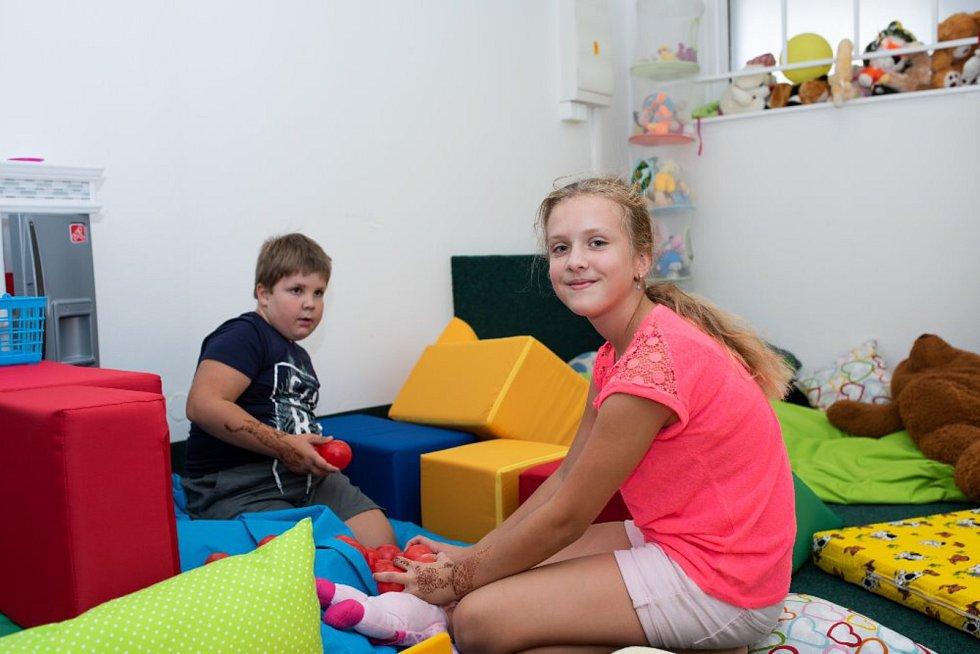 Dětské centrum Myška v Písku.