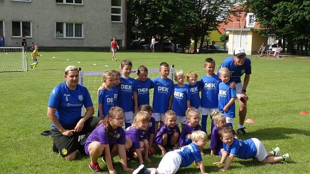 Minipřípravky měly turnaj v Mirovicích.