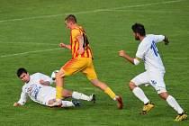 Fotbalový KP: ZVVZ Milevsko - Junior Strakonice 3:1 (1:1).