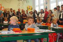 První školní den na ZŠ J. Husa Písek.