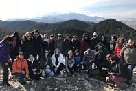 Projektový tým Erasmus+ za Španělska, České republiky, Polska, Anglie a Rumunska.