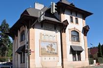Raabova vila na rohu Sedláčkovy a Táborské ulice v Písku.