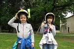 Děti navštívily hasiče.