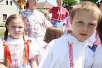Folklorní festival Kovářov 2012.
