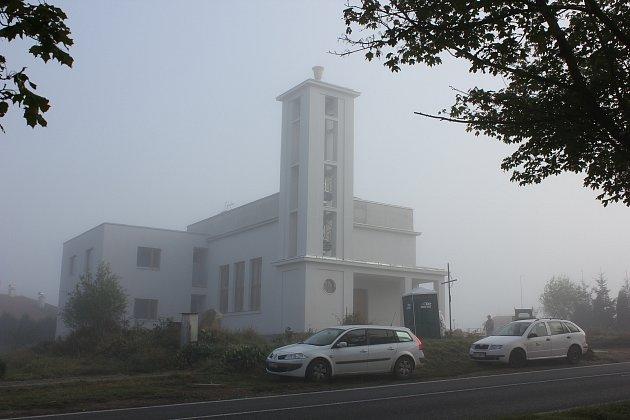 Mirovice, husitský kostel. Ilustrační foto