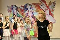 Daria Klimentová učila malé baletky v písecké Zušce.