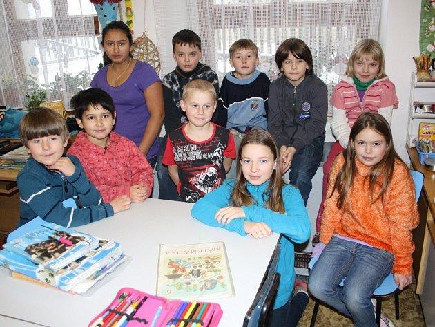 Děti ze Základní školy Orlík nad Vltavou.