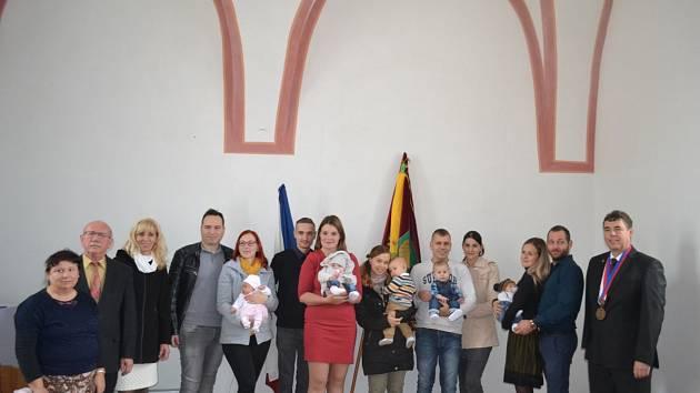 Vítání dětí v Čížové.
