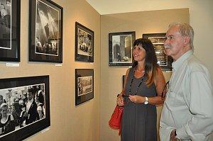 Výstava fotografií Pavla Komase v Malé galerii Sladovny.