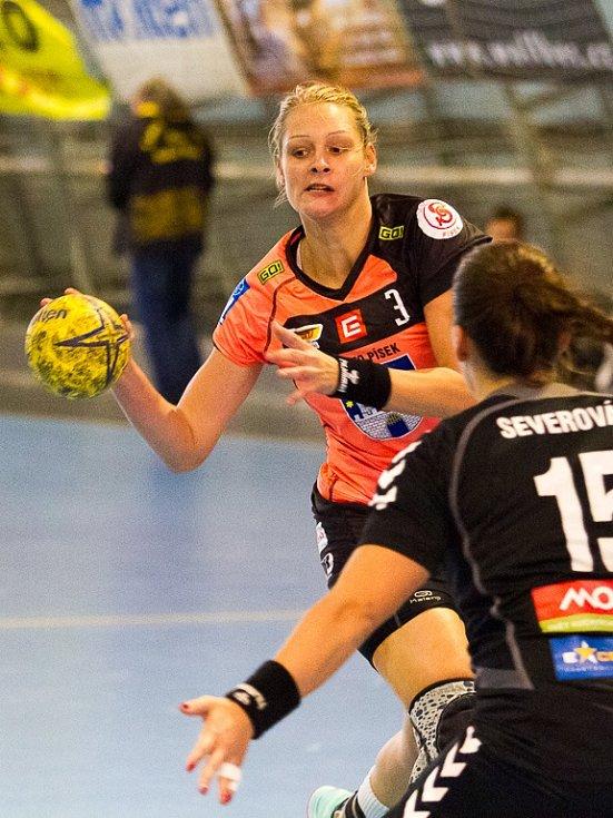 Kateřina Vrabcová při své typické akci.