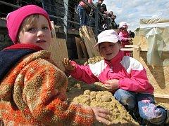 Děti na Cipískovišti 2009.
