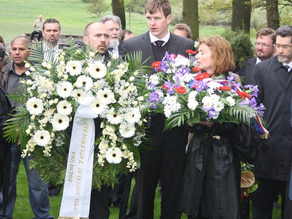 Pietní akt - Památník Lety.