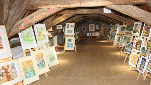 Galerie Kaplanka - ilustrační foto.