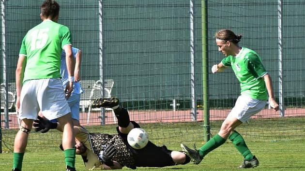 Protivín prohrál s Českým Krumlovem v dohrávce 17. kola 1:3.