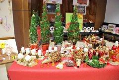 Vánoční prodejní výstava.