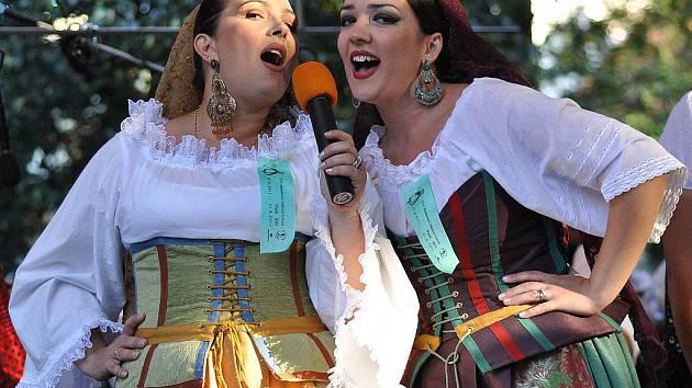 Mezinárodní folklórní festival v Písku.