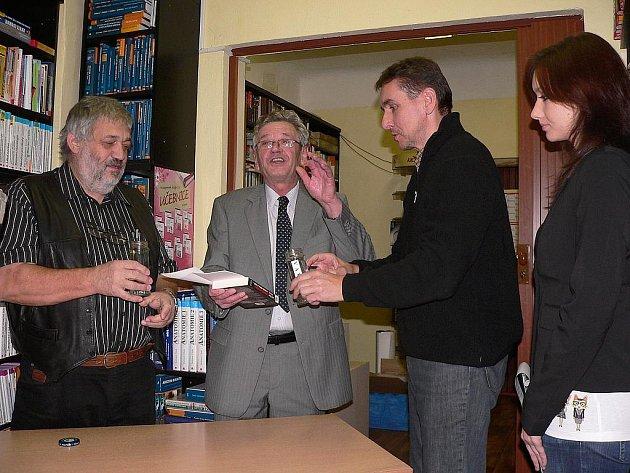 Křest nové knihy Ladislava Berana.